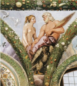 Venus voor Jupiter